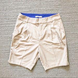 Esprit pleated long shorts